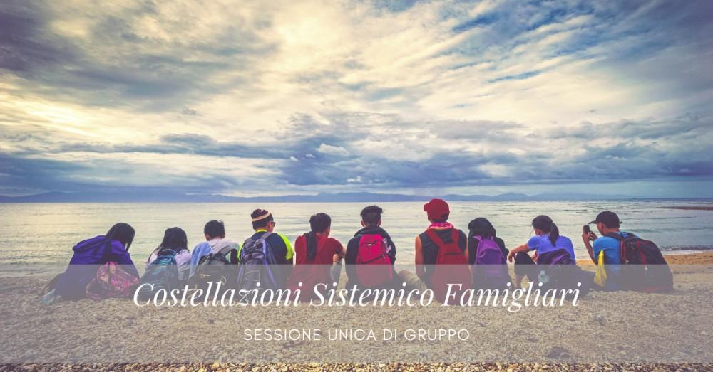Evento Costellazioni Sistemico Familiari di gruppo